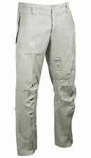 Pilot Khaki Flight Trousers - All Sizes Mens Cargo Combat Military Pants New