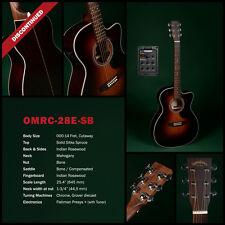 SIGMA GUITARS- OMRC-28E-SB sprazzo sole piacevole giocabile Chitarre Western