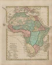 1809 AFRICA Robert Wilkinson Ethiopia Sahara Nubia Mediterranean   B11.23