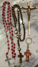 Religious Lot of Four Items - Two Rosary - Dd5D