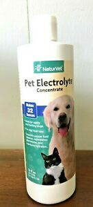 NaturVet Pet Electrolyte Concentrate for Dogs & Cats 16 oz.