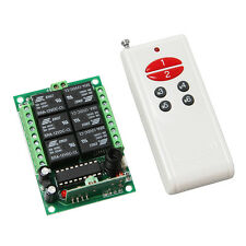 DC 12V 6 Channel 315MHz Relay remote control module Switch board RF for Arduino