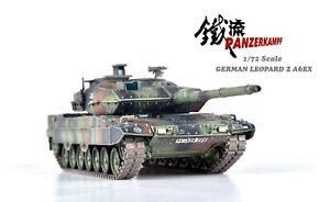 Panzerkampf 1/72 German Leopard 2A6EX Main Battle Tank - Woodland Camo - 12200PA