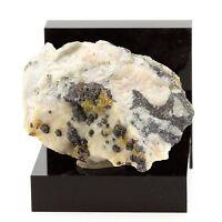 Sphalérite et Siderite sur Dolomite. 235.5 ct. Rivet Quarry, Tarn, France. Rare