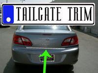 Saab 9-3 93 2003-2007 08 09 2010-2012 Chrome Tailgate Trunk Trim Molding