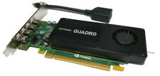 NVIDIA QUADRO K1200 4GB GDDR5 Graphic Card PCI Express 2.0 x16 Inc Adapter Cable