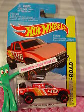 2016 Case A/Q 2015 i Hot Wheels TOYOTA OFF-ROAD TRUCK #120✰red; 48✰Hot Trucks