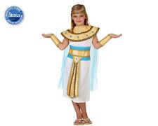 COSTUME EGIZIANA BAMBINA TG. 10-12 ANNI Carnevale Travestimento Regina 23343