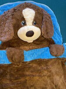 Hugfun Kids Animals Slumber Sleeping Bag Dog Puppy Soft Warm