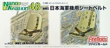 Fine Molds 1/48th Scale WWII IJN Aircraft Seatbelt Set No. NC2