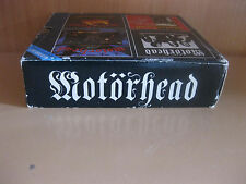 Motorhead (4 CD box set) Receiver Records 1993 CDs are mint, case is worn
