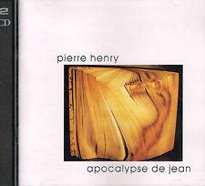 CD album: Pierre Henry: apocalypse de Jean. mantra 2 CDs. A