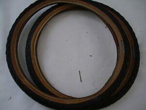 old school Haro group 1 Hole shot tires 20 x 1.9 pair set bmx bike
