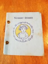 RARE VTG  NURSERY STORIES RHYMES AND SONGS 1925 BETHANY PRESS