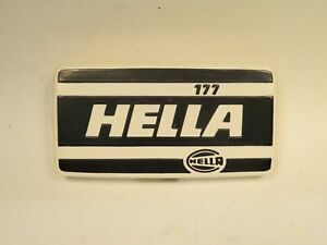 Fog/Driving Lamp Cover New Old Stock Hella Brand Series 177