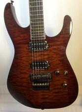 Jackson Pro Soloist SL2Q MAH Trans Root Beer with Quilt top Electric Guitar