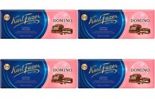 Fazer Karl Fazer Domino milk Chocolate 4 bars of 195g 6.9 oz