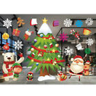 Christmas Window Wall Stickers Xmas Tree Decal Waterproof Party Home Decoration