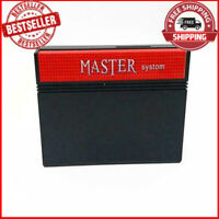 Matser System 600 in 1 SMS PAL NTSC Console Multi Cartridge Retro Game Sega NEW