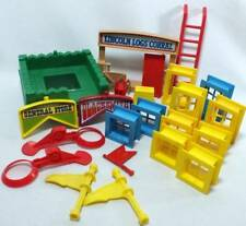 Lincoln Logs Corral Replacement Pieces