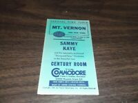 MARCH 1940 NEW YORK CENTRAL NYC MOUNT VERNON PUBLIC TIMETABLE
