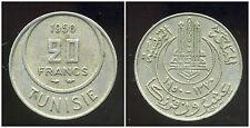 TUNISIE 20 francs  1950  ( protectorat francais )