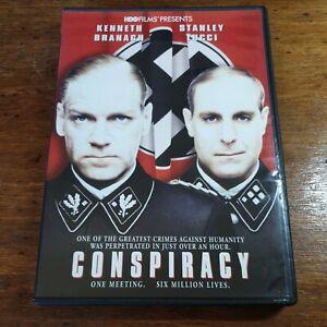 Conspiracy Kenneth Branagh DVD (Region 1 USA CANADA)
