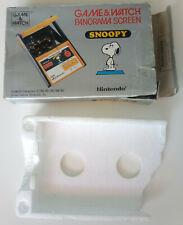 NINTENDO GAME WATCH PANORAMA SNOOPY SM-91. BOX AND STYROFOAM TRAY ONLY !!!!!!!!!