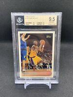 1996 Topps Kobe Bryant Rookie Card BGS 9.5 GEM MINT 10/9.5/9.5/9.5 PSA 10 RC HOF
