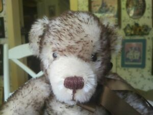 Ltd. Edition Brown-tipped mohair Merrythought Teddy Bear UK 770/1,000 15in EUC