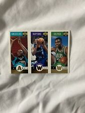 1996 Ud Collector Choice Gold Mini-Cards M87/Amaya, M81/Wright, M6/Williams