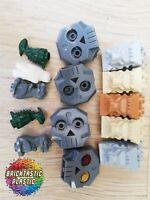 LEGO PARTS - x14 Bulk statues owl dragon skull lion Pirate harry potter