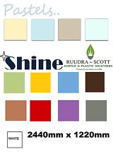 Hygienic Wall Cladding 8ftx4ft  pvc sheet upvc sheet gloss finish in all colors.