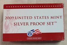 2009 US MINT SILVER PROOF SET - Complete w/ Original Box and COA