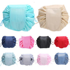 Cosmetic Drawstring Women Bag Make-Up Cosmetic Pouch Travel Capacity Storage New