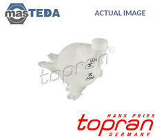 TOPRAN COOLANT EXPANSION TANK RESERVOIR 722 676 G NEW OE REPLACEMENT