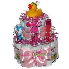 """★ Windeltorte Ente """"Emma"""" ★ tolles Geschenk zur Geburt Babyparty Taufe. Badeente"""