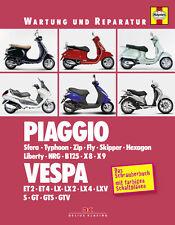 PIAGGIO VESPA Sfera Zip NRG ET GTLX X8 X9 Typhoon Reparaturbuch Handbuch Buch