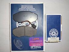 Optimal 4 plaquettes de frein avant Peugeot Boxer bus / box / ch. cabine (LDPA44
