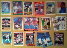 Baseball Trading Card Lot~ Seattle MARINERS ~Rich DeLucia ~Erik Hanson ~Bill Swi