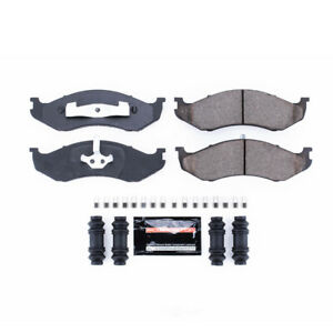 Power Stop for 90-01 Jeep Cherokee Front Z23 Evolution Sport Brake Pads w/Hardwa