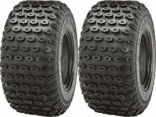 Pair 2 Kenda Scorpion 22x11-8 ATV Tire Set 22x11x8 K290 22-11-8