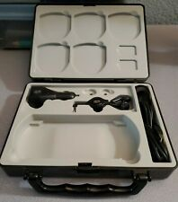 Huge Thick Black Sony PSP Playstation System Games Holder Carrying Case Storage