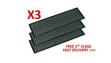 More details for 3x improved black universal 3d printed customisable io shield motherboard plate