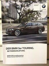 BMW 5er F11 TOURING 2015 2016 BetriebsanleitungBedienungsanleitung KFZ AUTO