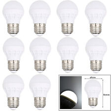 10 PCS E26 3W LED Bulb Globe Light Lamp Cool/Warm White Energy Saving AC 110V