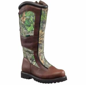 Redhead Men's Bayou NWTF Waterproof Side Zip Snake Hunting Boots