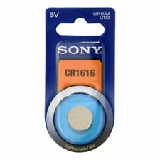 Sony CR1616 3V Lithium Coin Cell Battery DL1616 1616 Longest Use By Date
