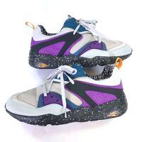 PUMA Mens Trinomic Alife x Blaze Of Glory Sneakers Gray 359800-01  Low Top 13