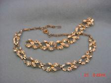 Vintage Lisner Necklace & Bracelet Set